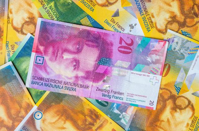 قیمت فرانک سوئیس امروز دوم مرداد 98