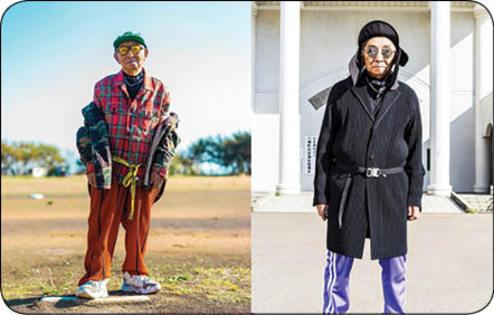 پیرمرد 84 ساله ای که مدل شد