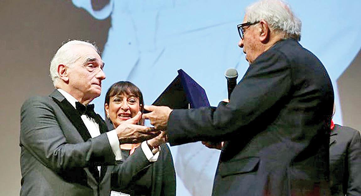 قدردانی دوجانبه اسکورسیزی و سینمای ایتالیا