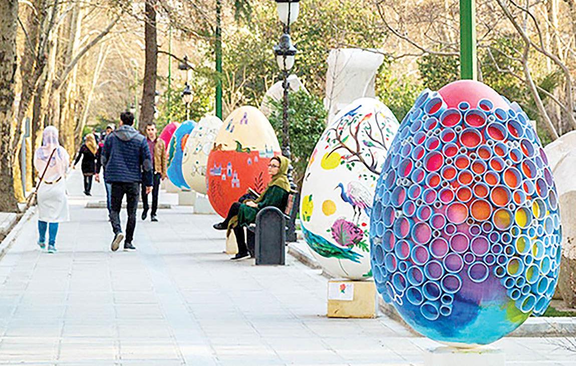 بازگشت تخممرغهای رنگی به پایتخت
