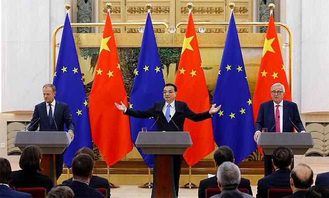 اتحاد چین و اروپا علیه ترامپ