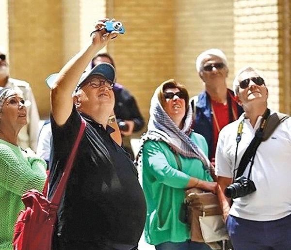 3گره کور بر تاروپود گردشگری ورودی