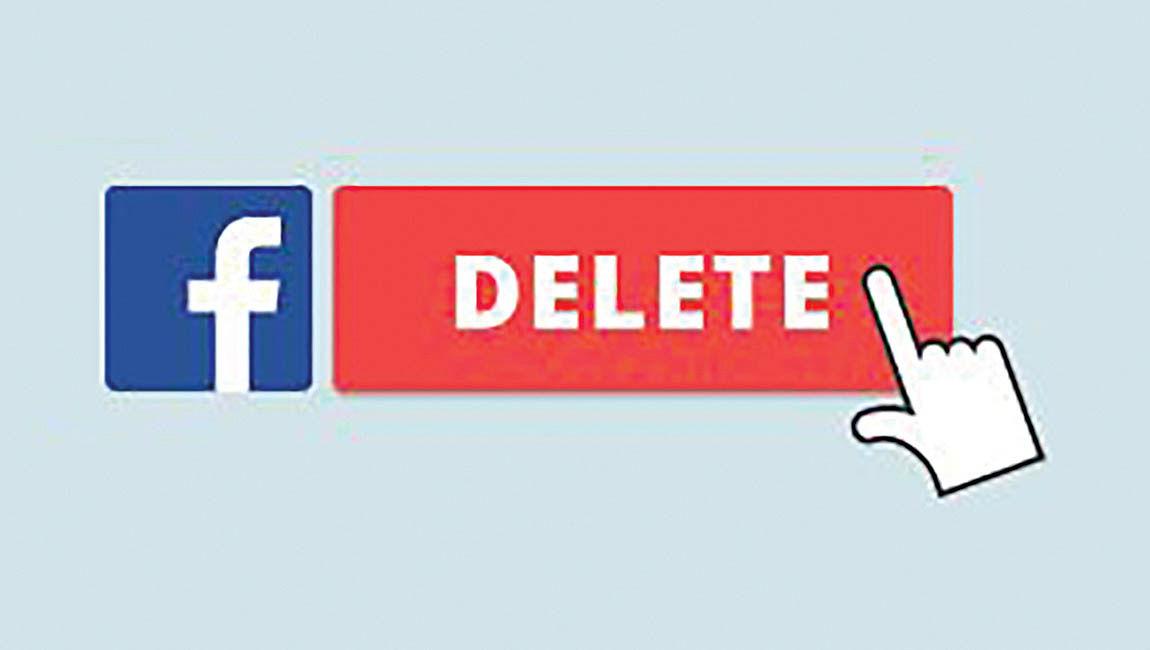 افزایش دو برابری زمان حذف پروفایل فیسبوک