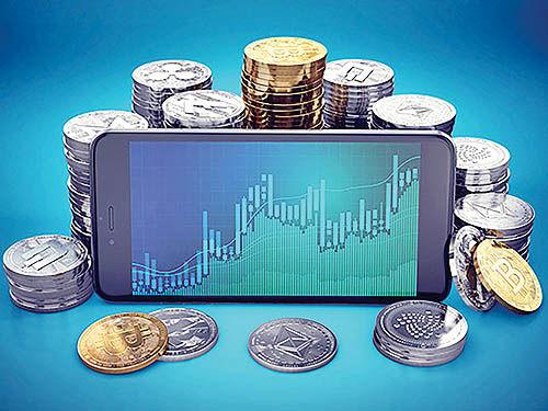 تابلوی راهنمای معامله رمز ارز