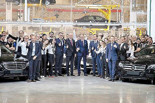 افتتاح کارخانه مرسدسبنز در روسیه
