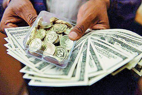 داستان قیمت دلار و سکه