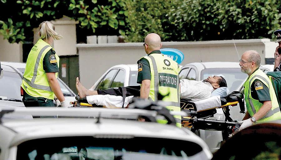 قتل عام نمازگزاران در نیوزیلند
