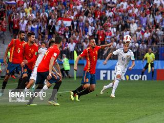 فوتبال اسپانیا و روسیه
