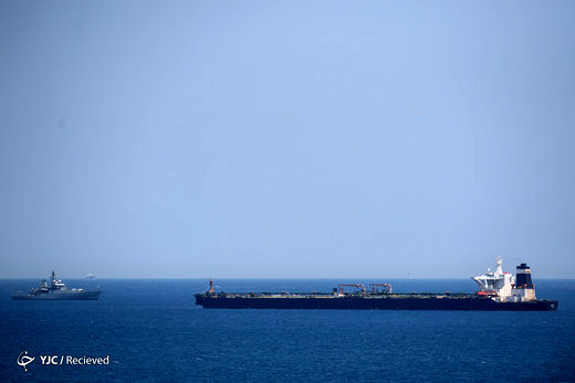 توقیف نفتکش حامل محموله نفتی ایران