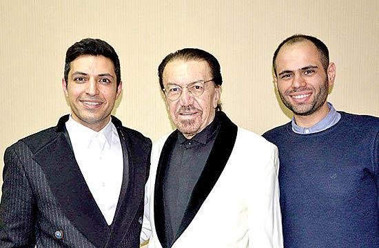 یاد خسرو شکیبایی در کنسرت ناصر چشم آذر