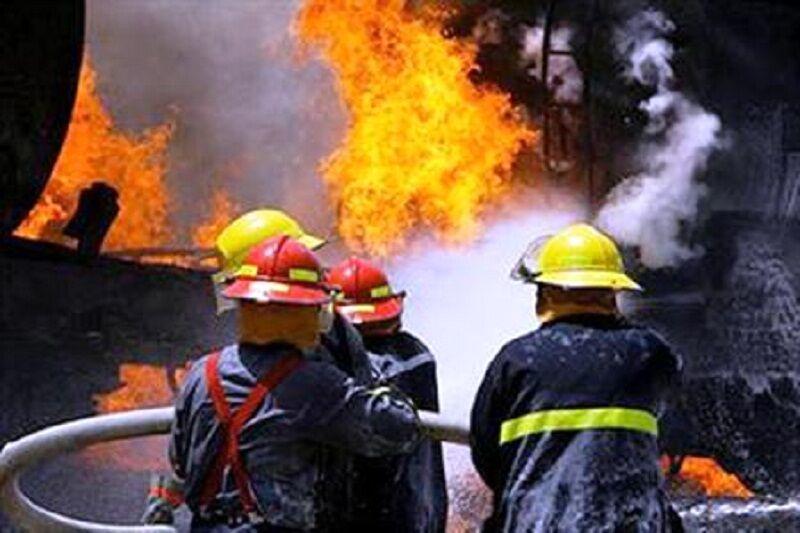 ۲۰ نفر از آتش سوزی برجی در مشهد نجات یافتند