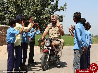 قدبلندترین افسر پلیس جهان در پلیس هند