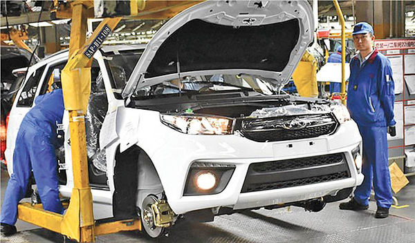 میزان داخلیسازی خودروهای چینی