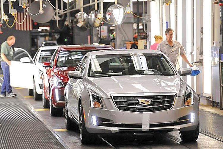تعطیلی 5 کارخانه جیام در آمریکا