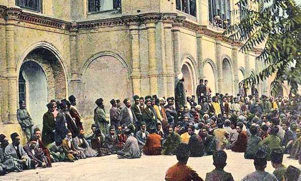 برگزاری نخستین نشست رسمی نمایندگان مجلس اول