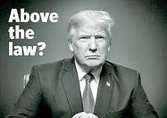 ترامپ بالاتر از قانون؟!