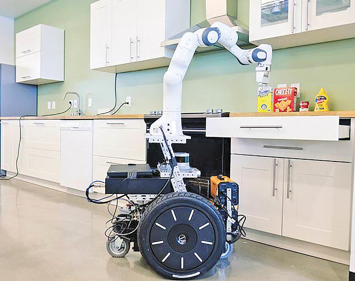 توسعه روباتی که از هر انگشتش هنر میریزد