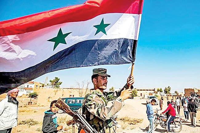 شیفت کردها به دولت اسد