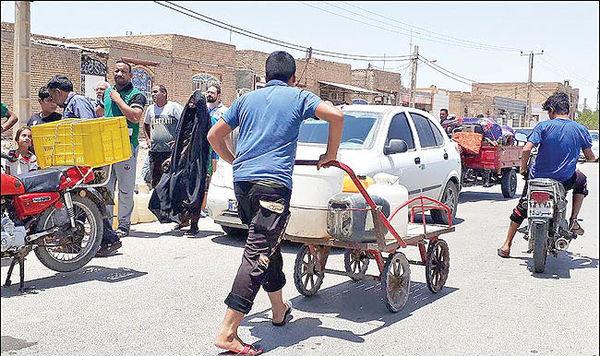 بحران آب در خرمشهر