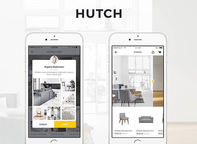 دکوراسیون داخلی را به اپلیکیشن HUTCH بسپارید