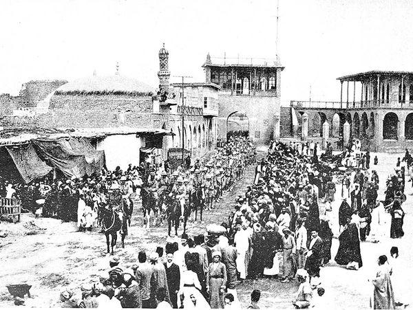 قیام عراقیها علیه انگلیس