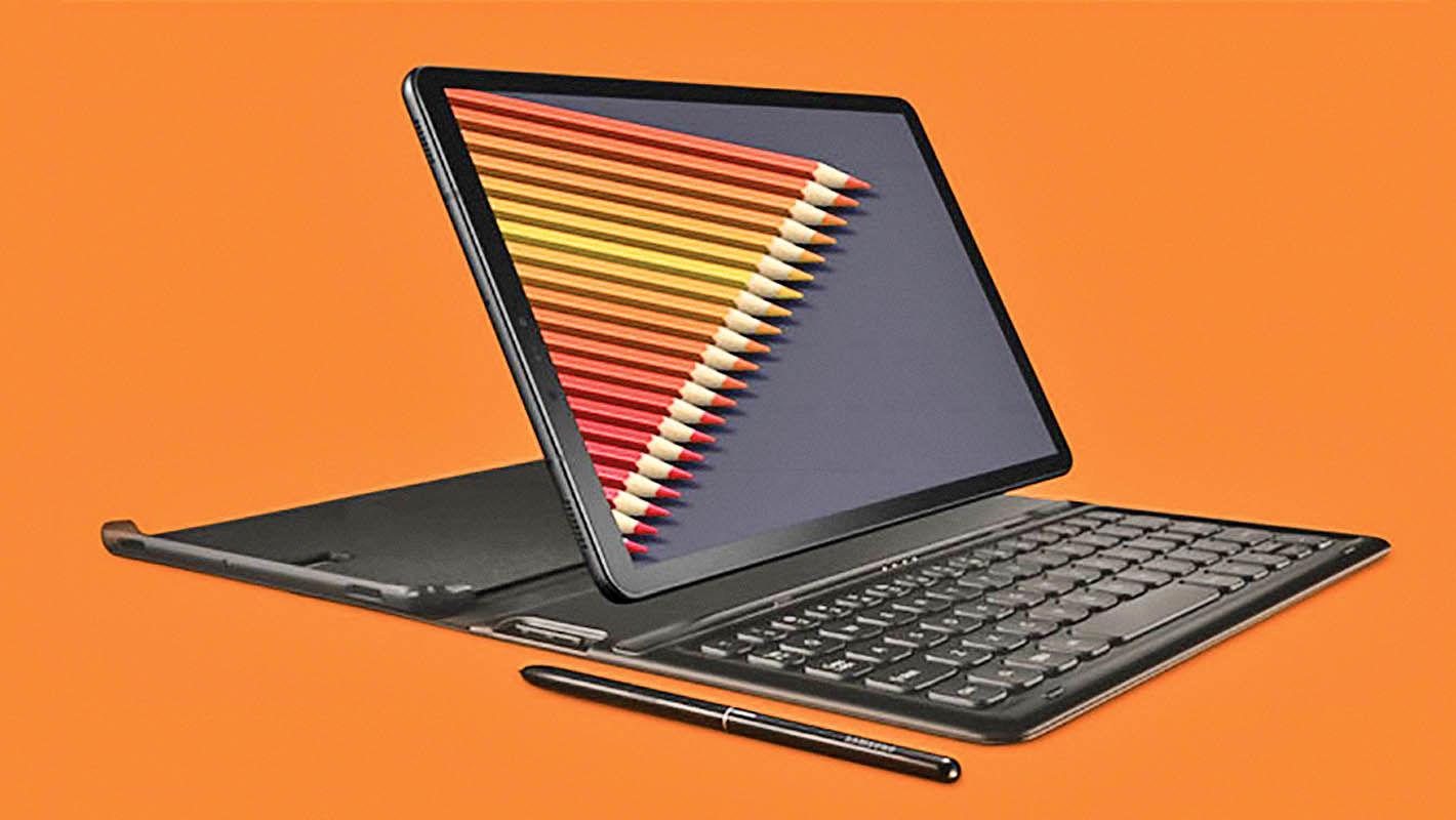 تبلت گلکسی تب اس 4 با قلم S Pen معرفی شد