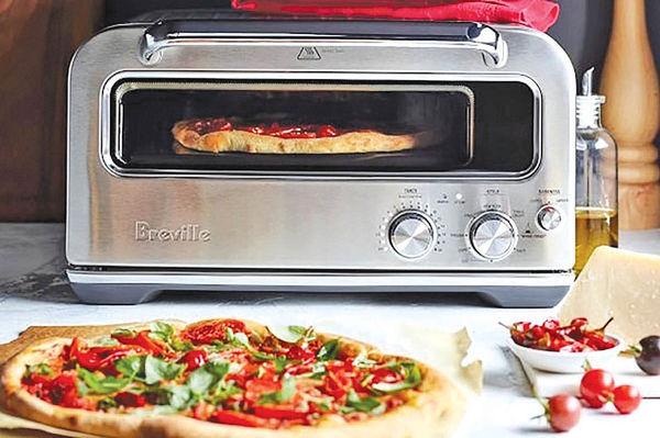 پختن پیتزا در ۲ دقیقه با اجاق گاز هوشمند