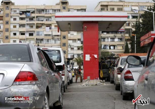 عکس/ کمبود سوخت در سوریه