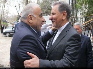 دیدار نخست وزیر عراق با جهانگیری در سعدآباد