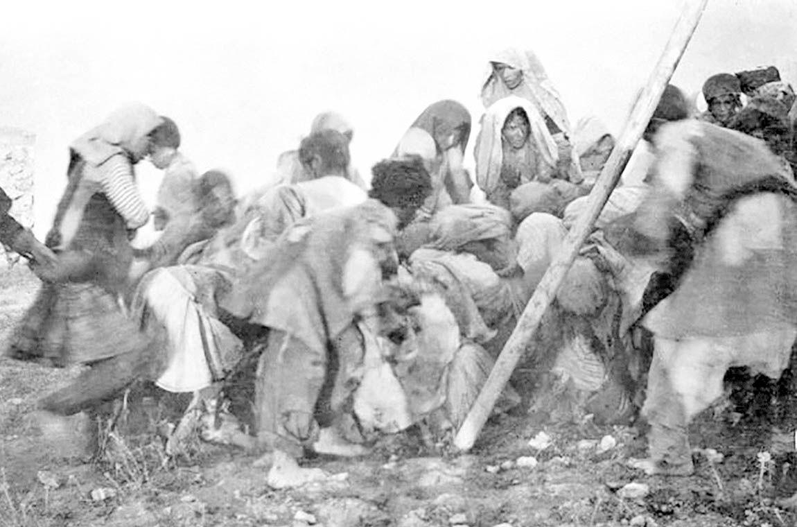 جنگ اول و قحطی در همدان