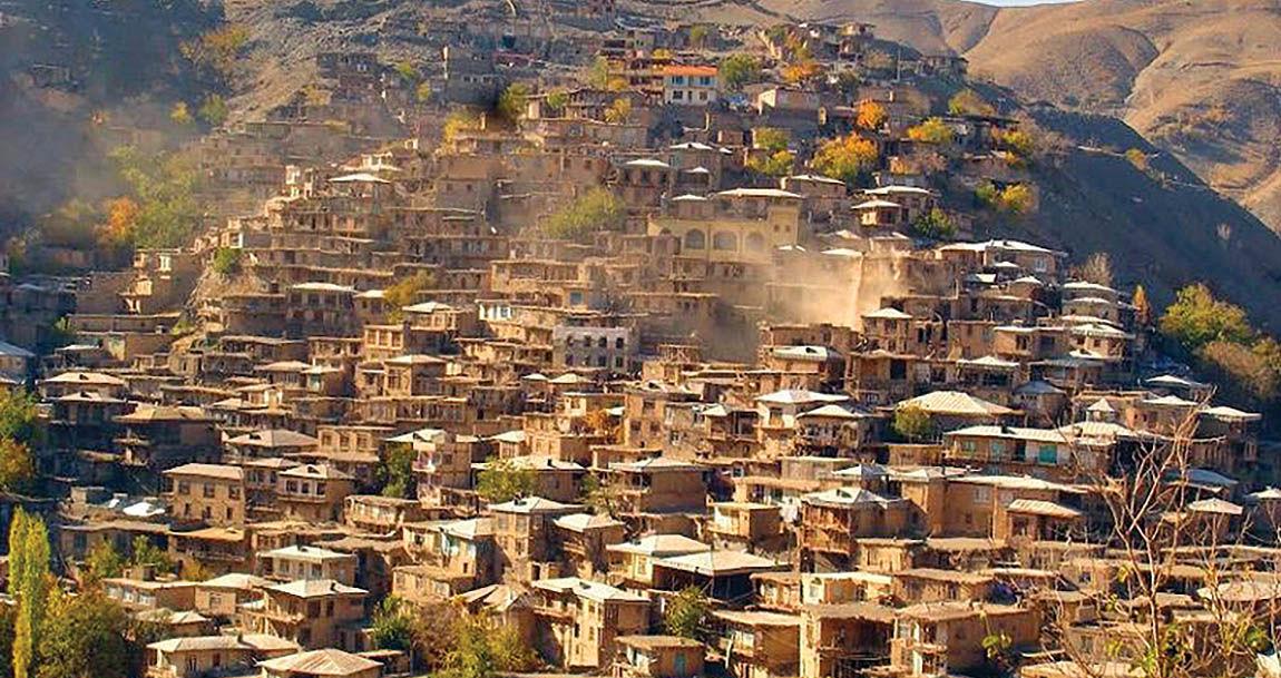 کشف روستای پلکانی در شمال شرق ایران