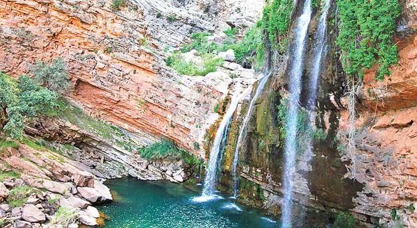 آبشار «شوی»؛ معجزه طبیعت