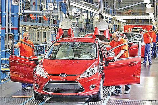تعطیلی کارخانه فورد در ولز تا 2020