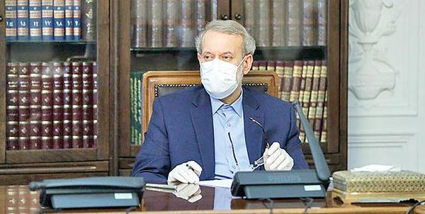 بازگشت علی لاریجانی از قرنطینه