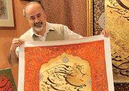 نمایشگاه «سماع مولانا» با خوشنویسی اسرافیل شیرچی