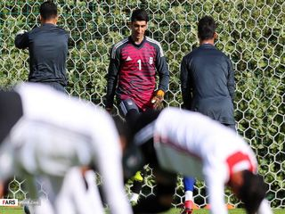 گزارش تصویری از دومین جلسه تمرینی تیم ملی فوتبال در مسکو