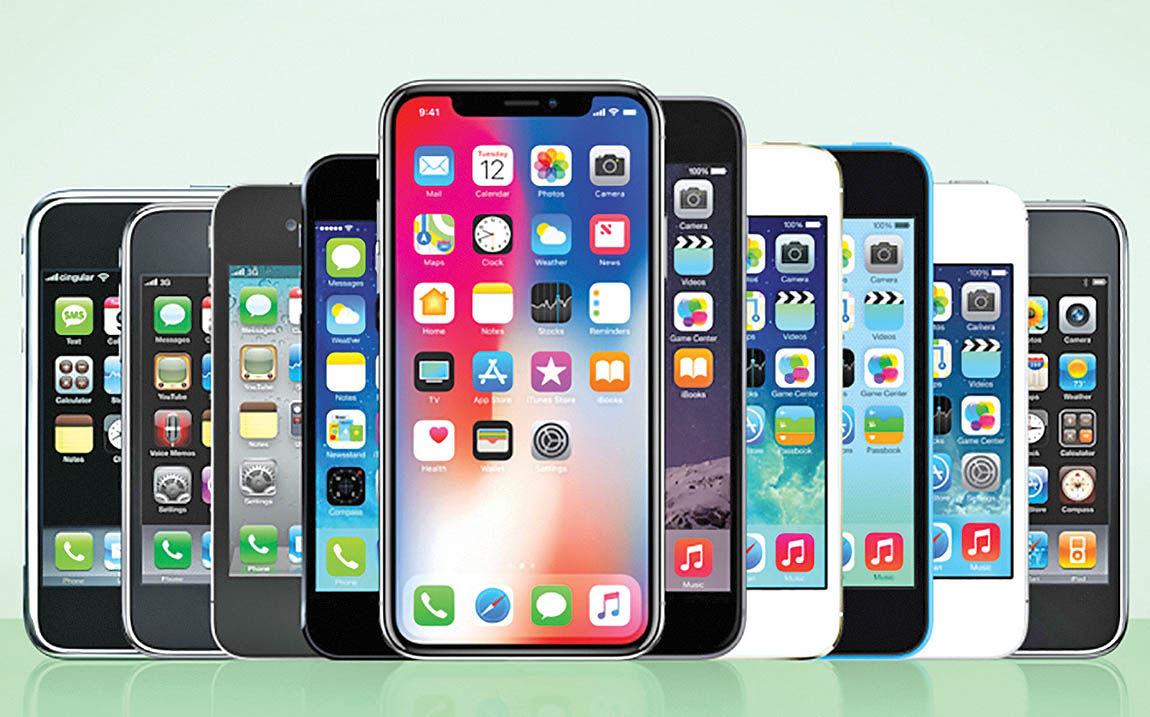 آیفونهای جدید فروش اپل را بالا میبرند