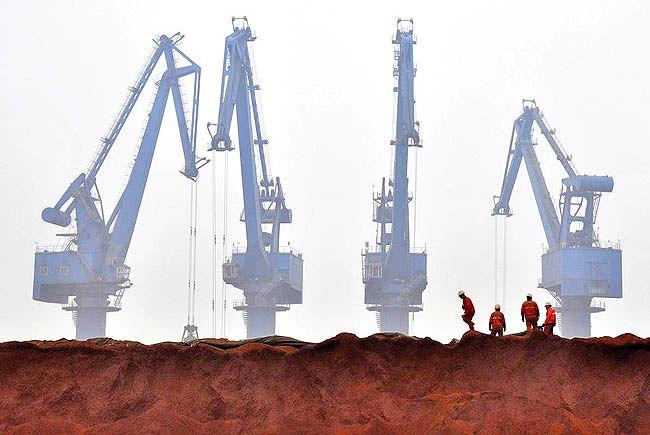 تغییر بازی چین در زمین سنگآهن