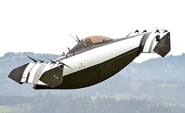 خودروی پرنده بدون گواهینامه خلبانی