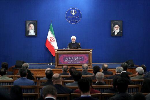 روحانی: ثبات و صلح در منطقه با حضور ایران امکانپذیر خواهد بود/ سردار سلیمانی در راه امنیت و ثبات منطقه به شهادت رسید/۲