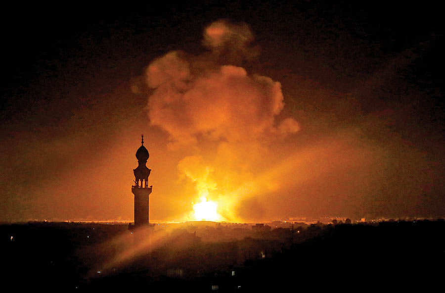 غزه زیر آتش صهیونیستها