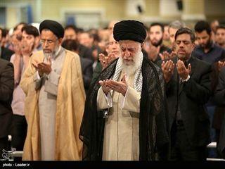 مراسم سوگواری امام علی(ع) در حضور رهبر انقلاب