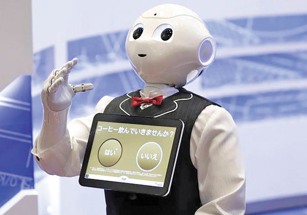 سرو سوپ توسط روبات