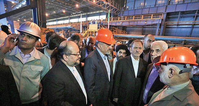 بهرهبرداری از طرح توسعه کارخانه فولاد سبا