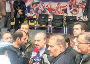 حضور اهالی ورزش در راهپیمایی 22 بهمن