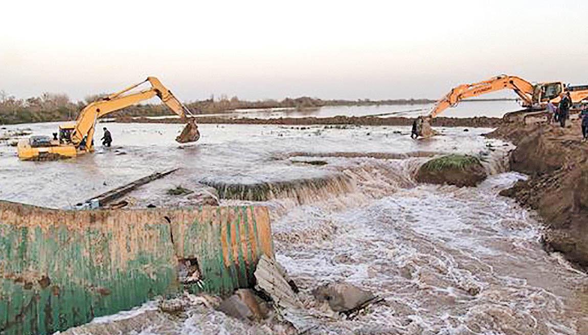 خوزستان در آماده باش سیل دوم