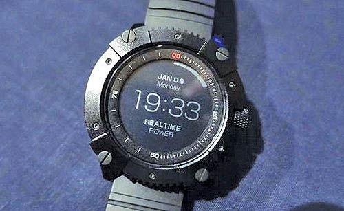 ساعت هوشمندی که با گرمای بدن کار میکند