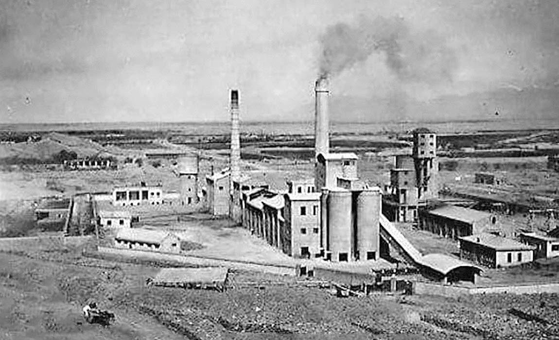 راهاندازی نخستین کارخانه سیمان