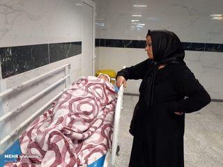 انتقال زائران مصدوم در تصادفهای عراق به مهران