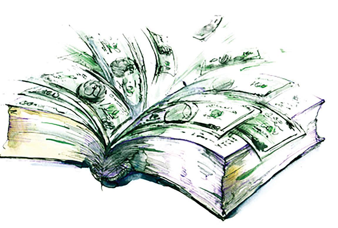 دستمزد سالانه نویسندگان در جهان